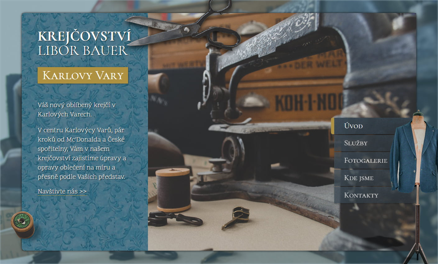 Tailoring services in Karlovy Vary