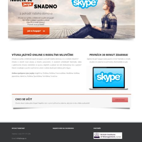 lango-skype-website