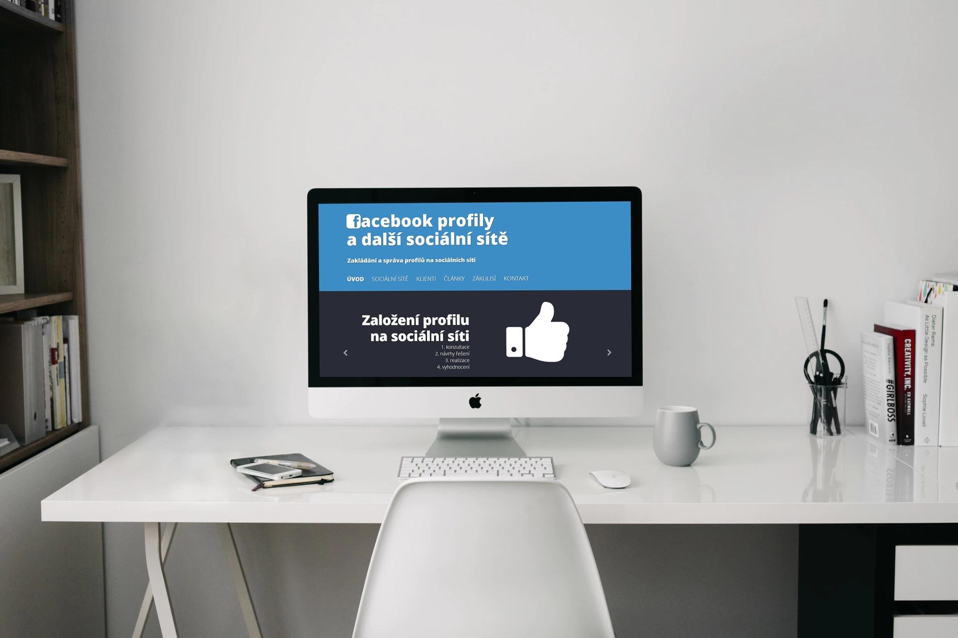 Website Facebook Profily 1